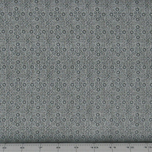 Dusty Blue Tonal Tiny Stars in a Grid Pattern from the Itty Bitty Collection by Janet Rae Nesbitt for Henry Glass Fabrics, 2153-92