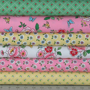 Mon Beau Jardin Fabric Bundle Penny Rose Fabrics Riley Blake