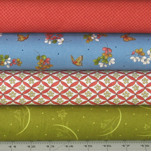 japanese garden fabric bundle