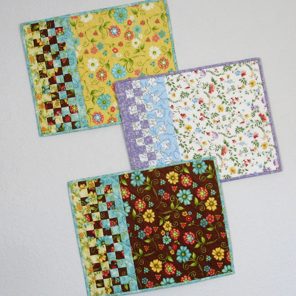 check it out placemat pattern
