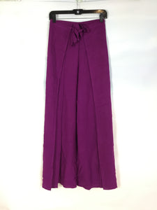 Wrap Pants in Violet
