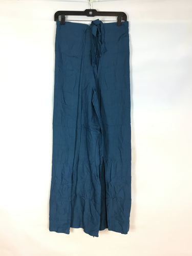 Wrap Pants in Teal