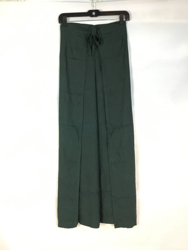 Wrap Pants in Forrest Green