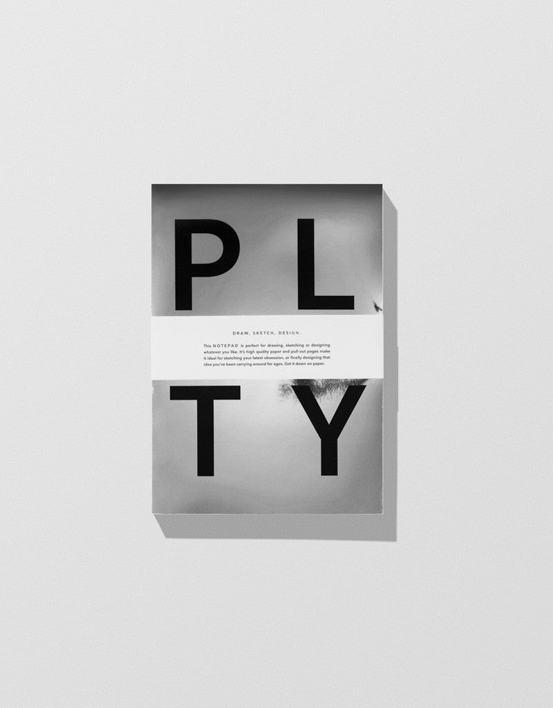 Silver — PLTY Notepad