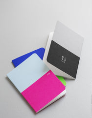 Double Colour - Back Pocket Notebook
