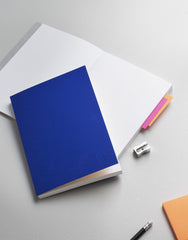 Blue / Yellow — Notebook