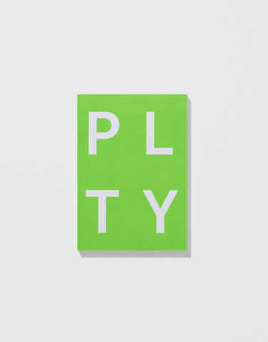 Neon Green - PLTY Notepad