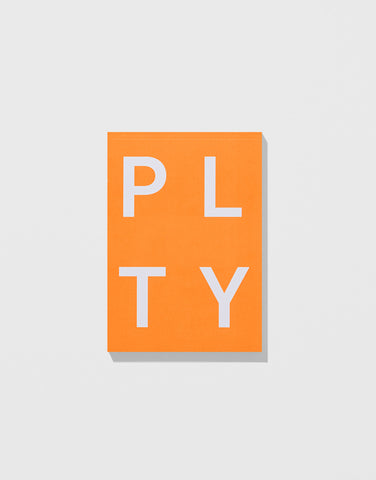 Neon Orange - PLTY Notepad