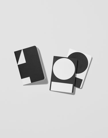 B/W — Back pocket Notebooks