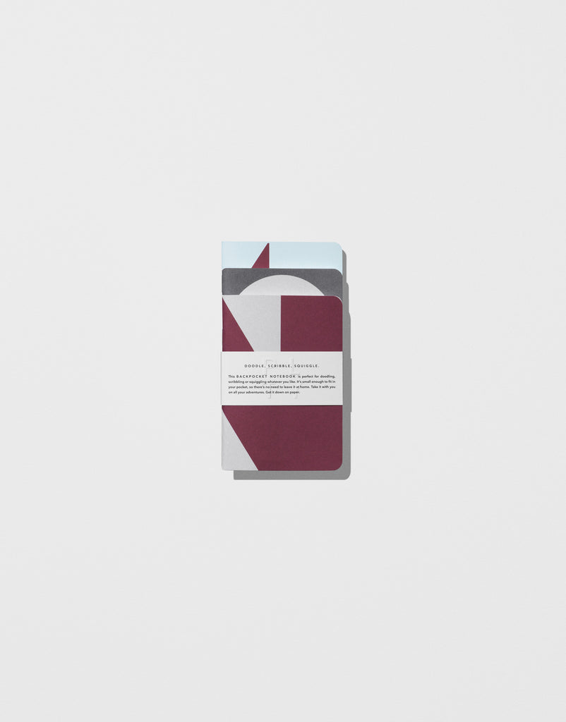 Bordeaux — Back pocket Notebooks