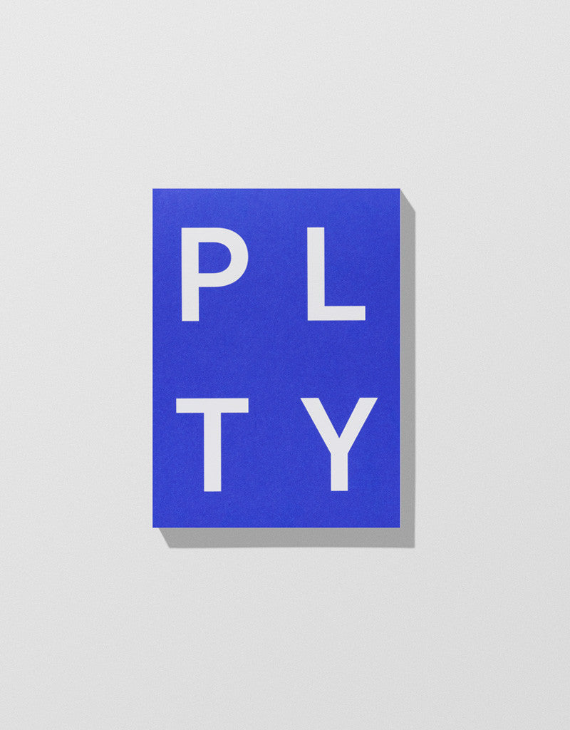 Blue — PLTY Notepad