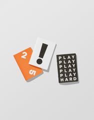 Play Hard — Back pocket Notebooks
