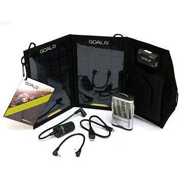 Goal Zero Guide 10 Plus Adventure Kit components