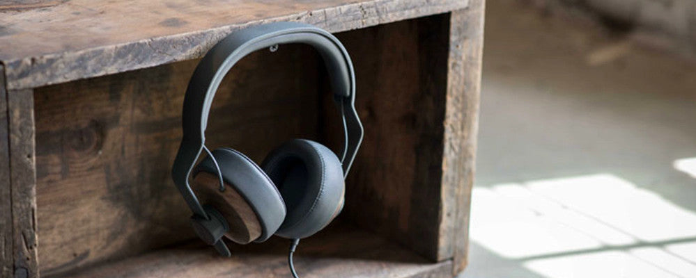 OEHP:  Over Ear Headphones with Solid Wood Cups