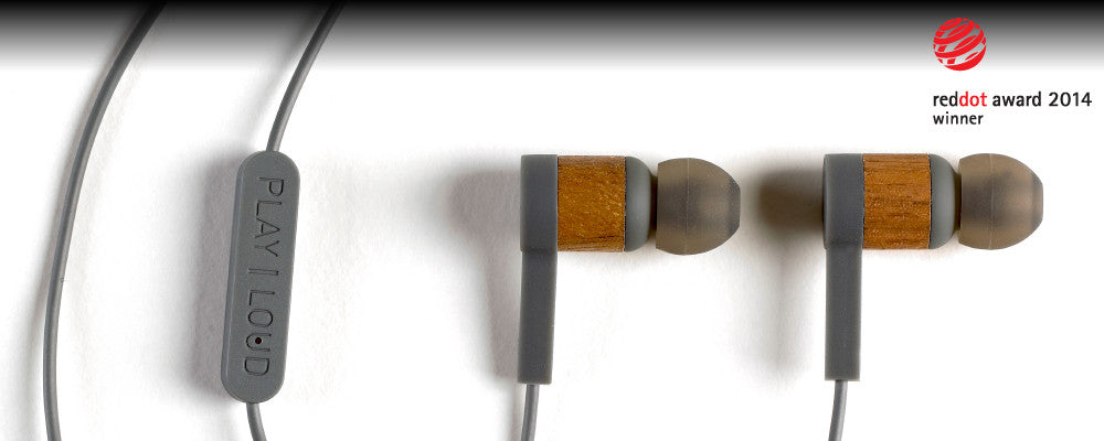 IEHP:  Award Winning Solid Wood Earbuds.