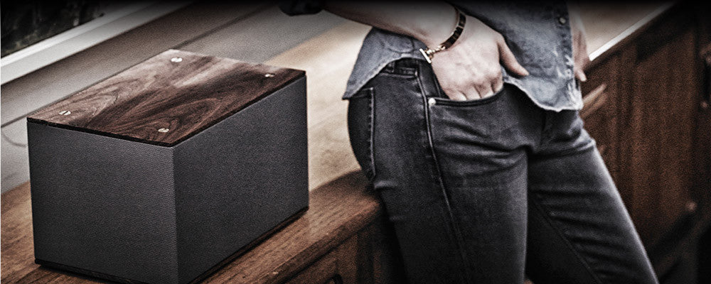 PBS:  Passive Bookshelf Speakers Featuring Solid Walnut