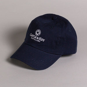 Cotton Small Fit Hat Navy