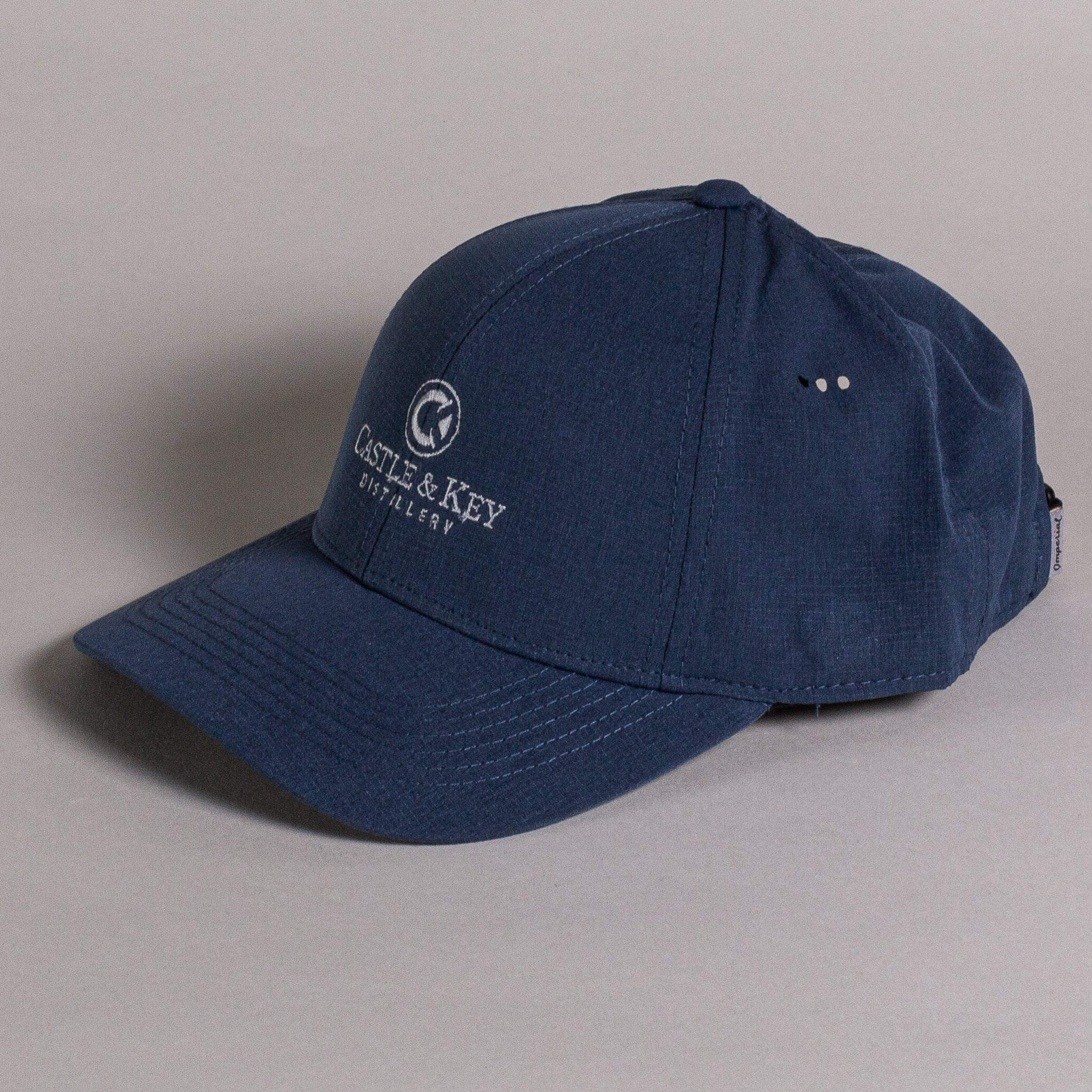 Castle & Key Performance Hat Navy