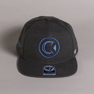 Charcoal Castle & Key Logo Snapback Hat