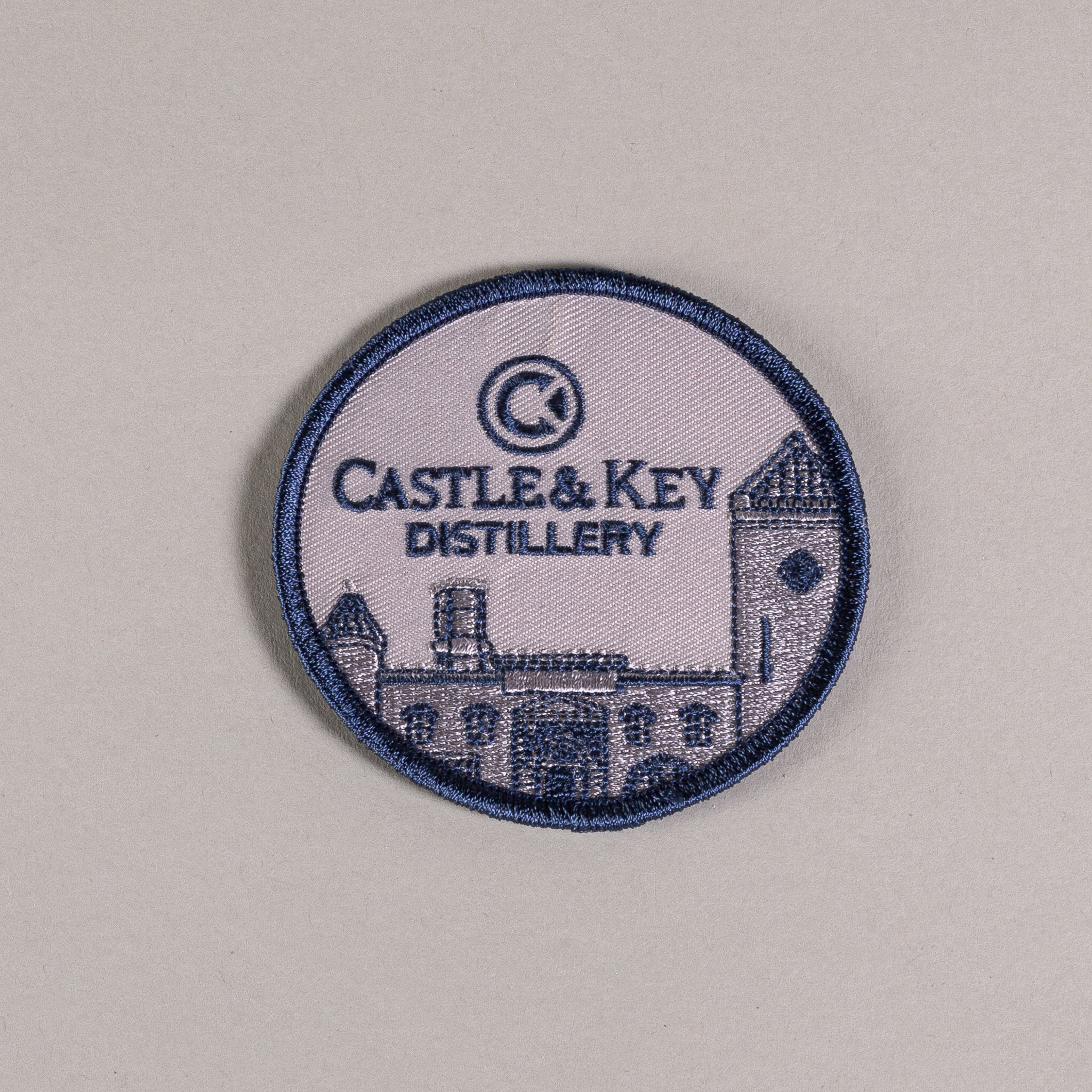 "Embroidered 3"" Castle Patch"