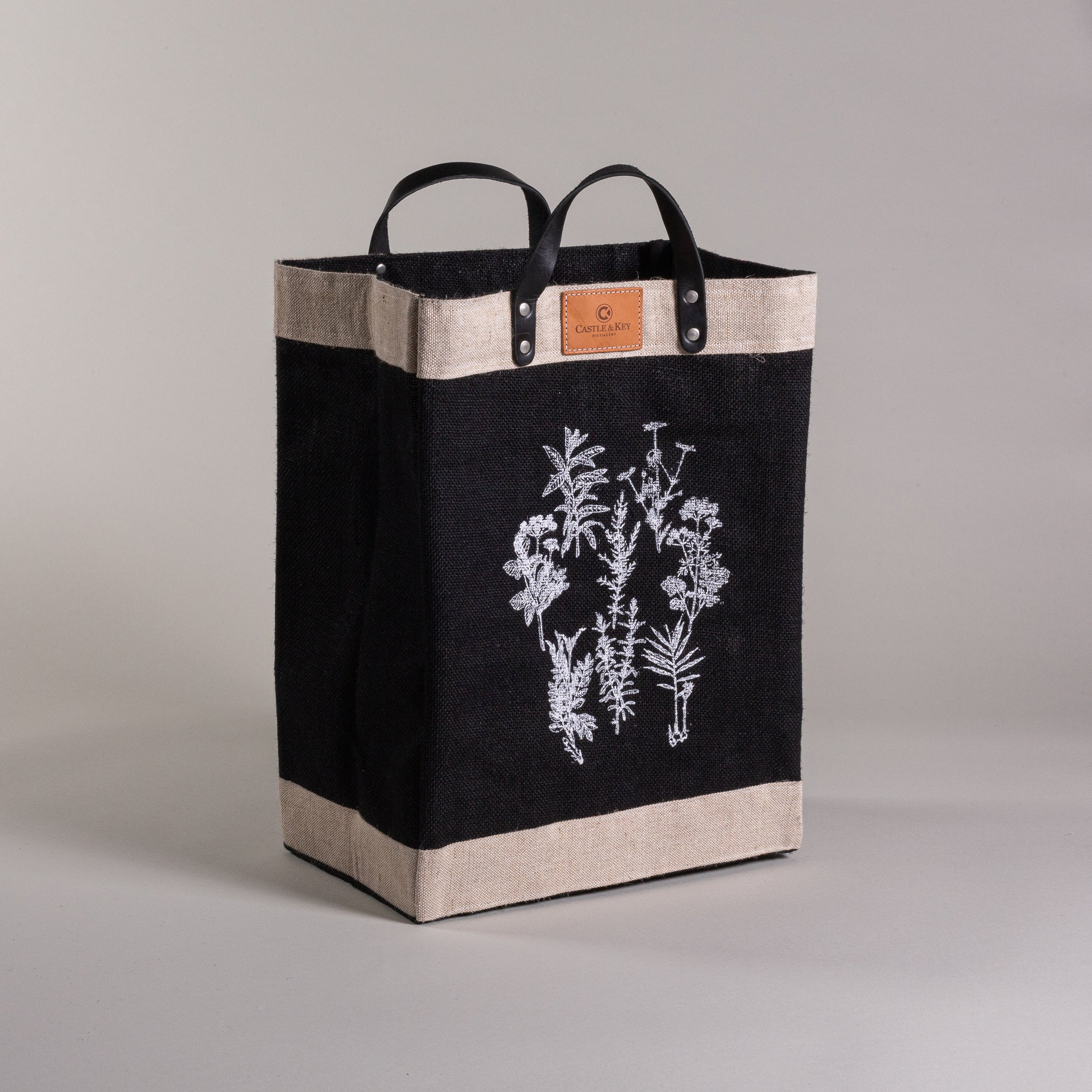 Apolis Botanical Print Market Bag