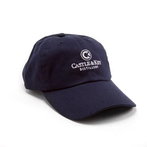 Castle & Key Cotton Logo Hat Navy