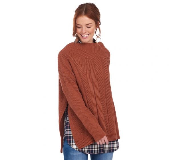 Barbour Women's Stitch Guernsey Cape