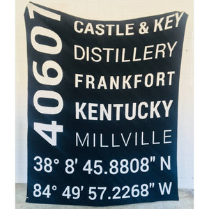 Castle & Key Throw Blanket