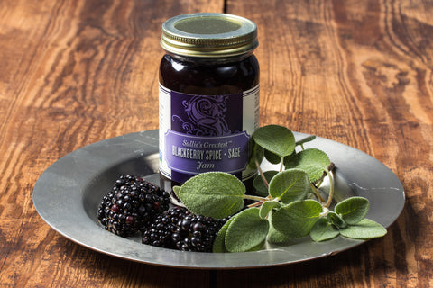 Blackberry Spice + Sage Jam