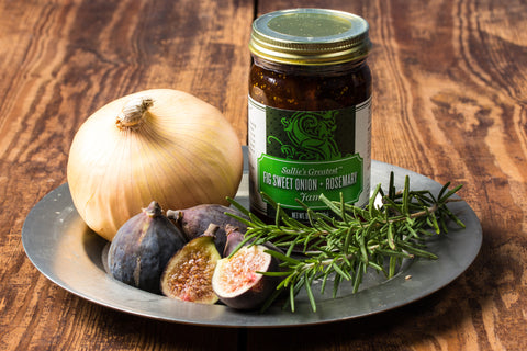 Fig Sweet Onion + Rosemary Jam