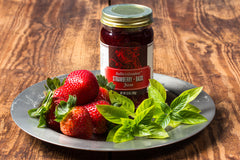 Strawberry + Basil Jam