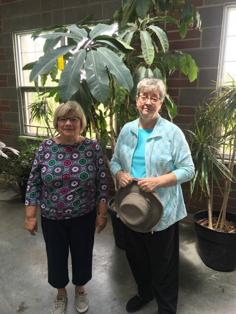 Volunteer Spotlight: Sharon Reader and Peggy Koppmann