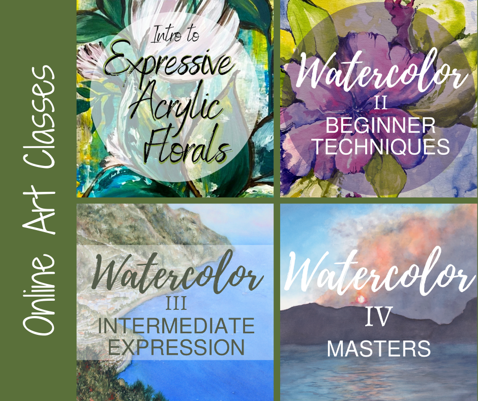 New Online Art Classes Announced at the Botanical Gardens!