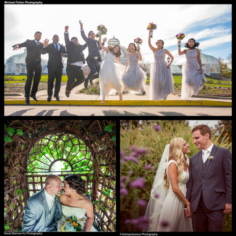 let the beauty and wonder of the botanical gardens make your special day one youll never forget with lush ambiance and historic charm you wont find - Botanical Garden Wedding