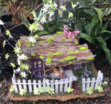 Fairy and Gnome House Exhibit