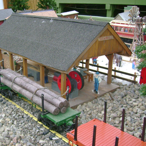 Poinsettia & Railway Exhibit