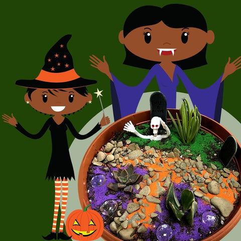Halloween Mini-Garden - Oct 22