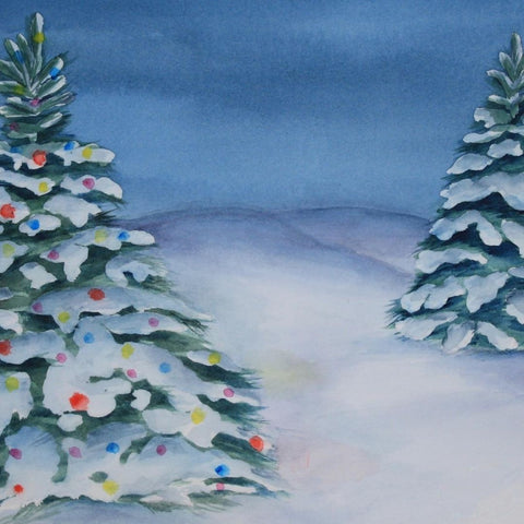 Majestic Seasonal Trees Art Workshop - Dec 3