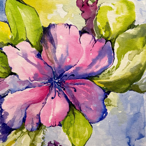 Watercolor II – Beginner Techniques - ONLINE