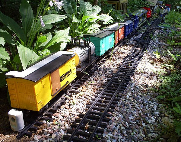 Garden Railway Exhibit Buffalo Botanical Gardens