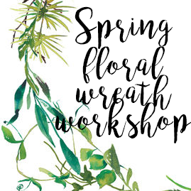 Spring Watercolor Wreath- March 25