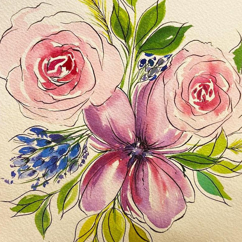 Watercolor Whimsy II- May 13