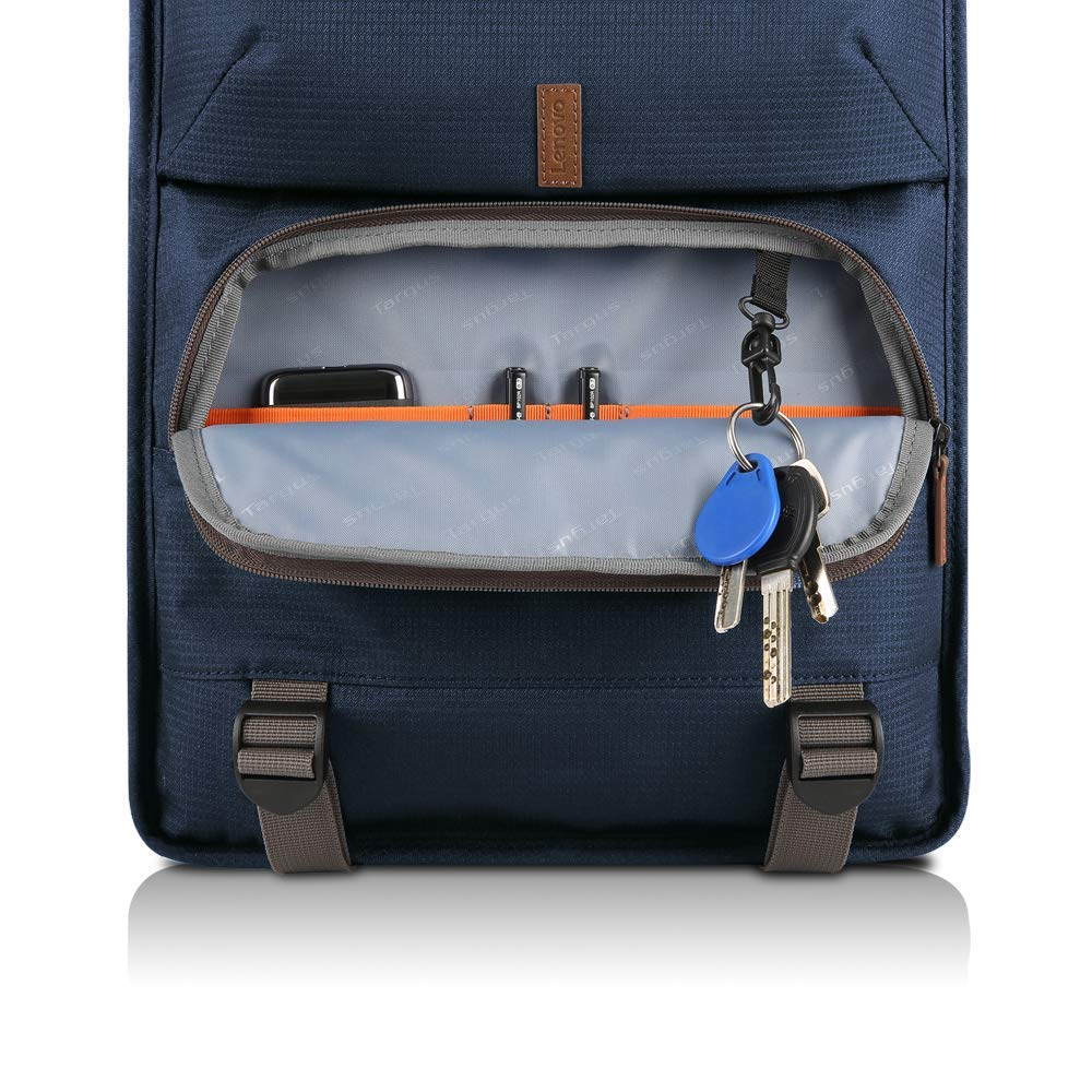 "Lenovo Urban B810 Carrying Case (Backpack) for 15.6"" Notebook Blue Shoulder Strap"