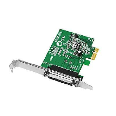 SIIG 1-port Dual Profile ECP-EPP high-speed parallel PCIe adapter Model JJ-E01011-S3