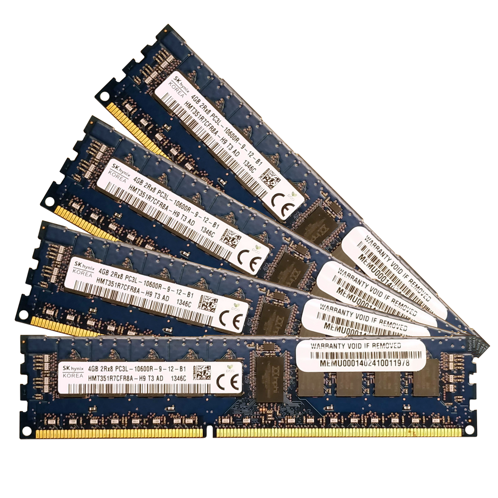 16GB Kit (4x 4GB) DDR3-1333MHz ECC RDIMM - BitDeals.tech - RAM