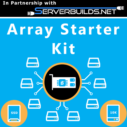 4TB Array Starter Kit - BitDeals.tech - Custom