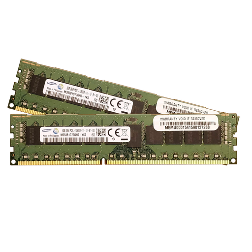 16GB Kit (2x 8GB) DDR3-1600MHz ECC RDIMM - BitDeals.tech - RAM