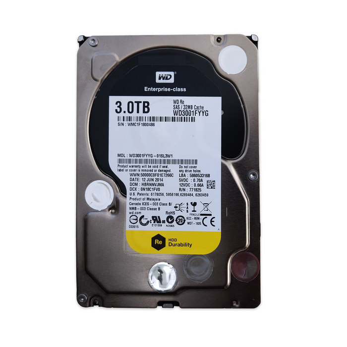 WD 3TB WD3001FYYG - BitDeals.tech
