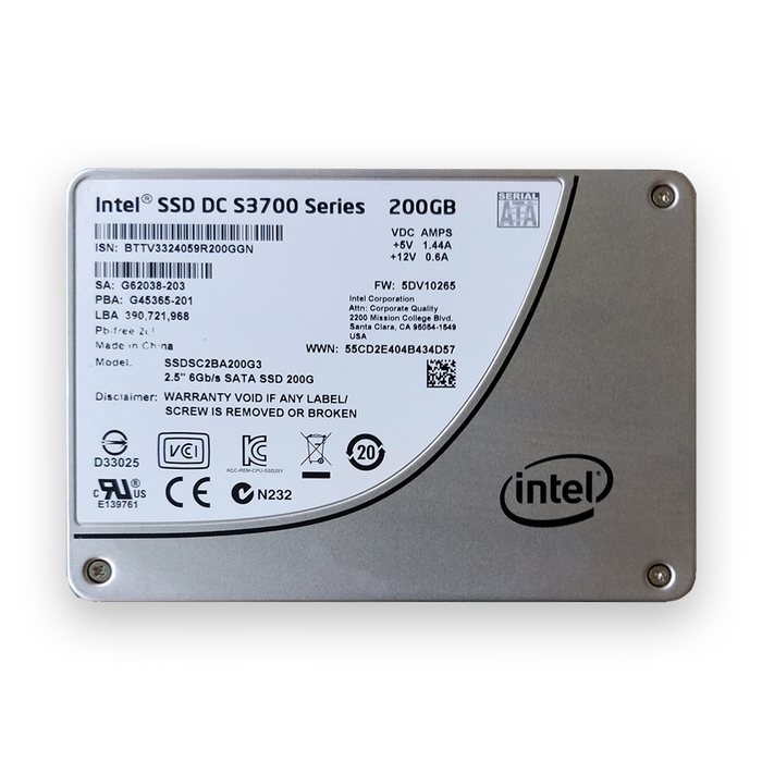 Intel 200GB SSD S3700 Series - BitDeals.tech - Storage