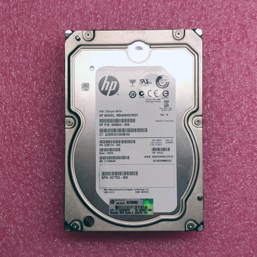 HP 4TB SATA (Seagate Constellation ES.3 Series) MB4000GCWDC - BitDeals.tech - Storage